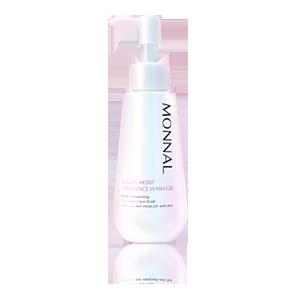 MONNAL(モナール) ラグジュアリーモイストザ・エッセンスウォッシュゲル(120g)<朝専用の美容液洗顔料>