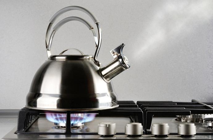 水道水は10分以上煮沸する